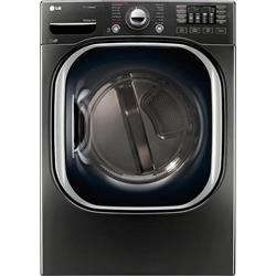 27 Inch Electric Dryer with 7.4 cu.ft. Black Steel DLEX3900B Image